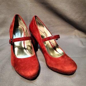 Alfani  Ruby Red Heels